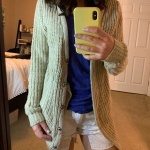 Urban Outfitters Beige Cardigan